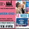 Contest: <i>Le Week-End</i> tickets