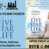 Contest: <i>A Five Star Life</i> tickets