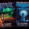 2012 Philadelphia Film Festival program guide covers
