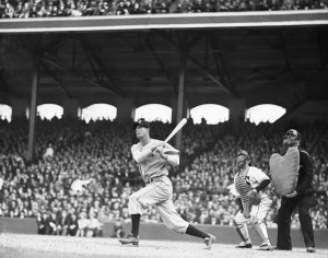 Chicago'S Hank Greenberg Hitting Homerun