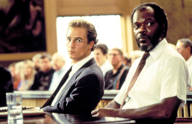 racial tension in a time to kill a movie directed by joel schumacher A time to kill 1996 director: joel schumacher: writers: akiva goldsman trial, courtroom, racial tension, kkk, racial issues.