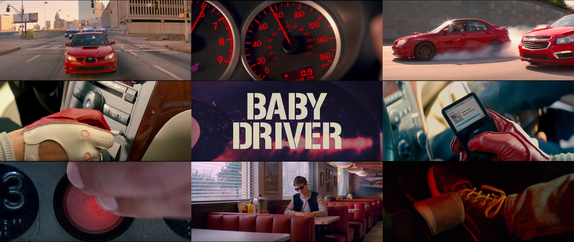 How Edgar Wright uses the color red in Baby Driver