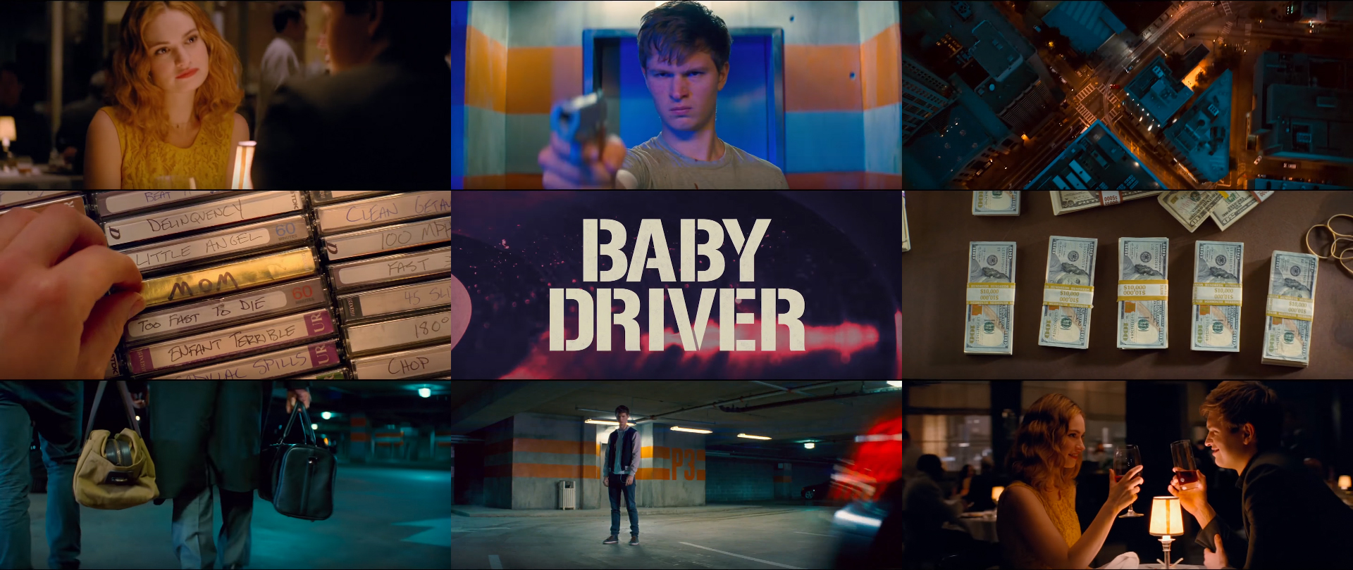 How Edgar Wright uses the color yellow in Baby Driver